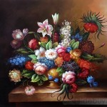 Classic Fruit Still Life Oil Painting Tidebuy