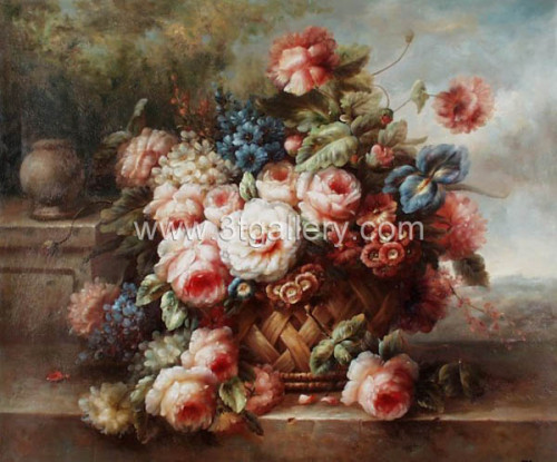Classic Paintings Flower China Painting Oil
