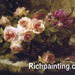 Classical Flower Hand Made Oil Painting China