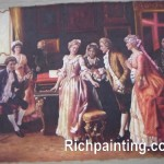 Classical Royal People Portrait Oil Painting China