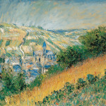 Claude Monet French View Theuil Oil
