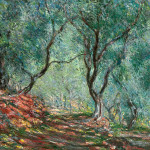 Claude Monet Paintings Olive Tree Wood The Moreno Garden Jpg