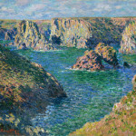 Claude Monet Paintings Port Donnant Belle Ile Jpg
