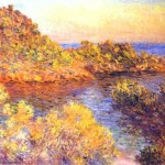 Claude Monet Paintings The Cape Martin Painting