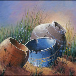 Clay Pots From Jerry Yarnell Tutorial Acrylics
