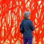 Close Twombly Painting The Brandhorst Museum May