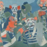 Clowns Painting Beth Samuelson Fine Art Prints And Posters
