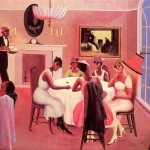 Cocktails Archibald Motley Oil Painting Reproduction