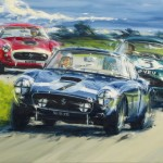 Collection Vintage Car Paintings Show Now Till The