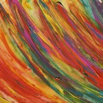 Color Field Paintings Canvas Abstract Painting
