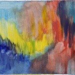 Color Field Paintings Wash Abstract Painting