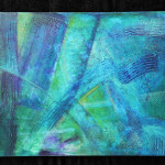 Color Texture And Movement Gallery Indigo Lights Abstract Art