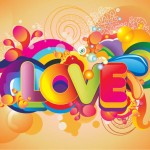 Colorful Love Vector Art Free Graphics All