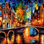 Colorful Oil Painting