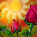 Colorful Paintings Flowers Vol Picrolls Free