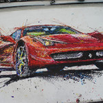 Colourful Remote Controlled Car Paintings Ian Cook Other Focus
