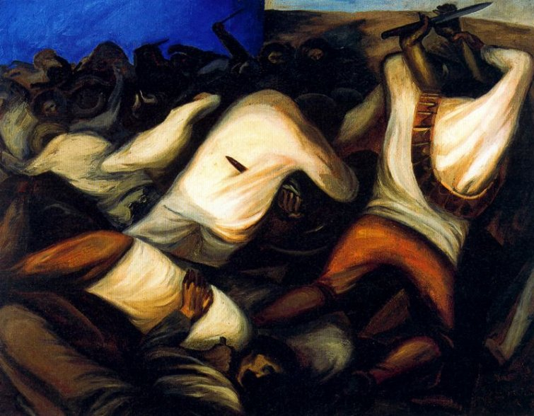Combat Jose Clemente Orozco Wikipaintings