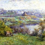 Coming Spring Painting Frederick Mccubbin Oil