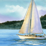 Commissioned Painting Original Watercolor Size Private