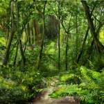 Completed Jungle Matte Painting About Hrs Comments Appreciated