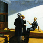 Conference Night Edward Hopper Wikipaintings