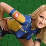 Contemporary Body Paint Pictures Soccer Painting Women