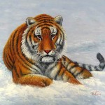 Cool Siberian Tiger Painting