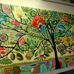 Creative Life Bohemian Tree Painting