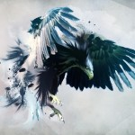 Creative Painting The Mighty Eagle Resolution