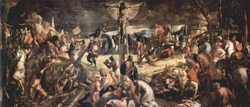 Crucifixion Tintoretto Wikipaintings