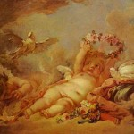 Cupids Fran Ois Boucher Painting Francois Famous Drawings