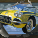 Custom Fine Art Oil Paintings Cars And People Jetset Marketplace