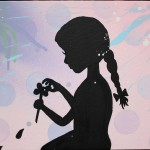 Custom Girl Silhouette Painting Christina Ruano Custommade
