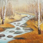 Custom Hand Painted Landscape Oil Painting