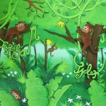 Custom Monkey Painting Names Incorporated