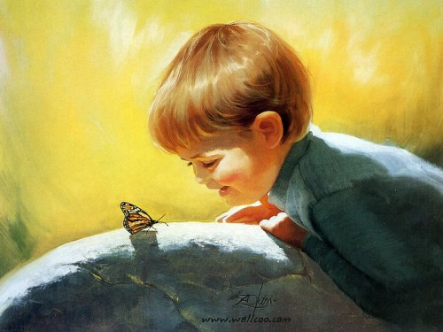 Cute Ren Paintings From Donald Zolan Painting