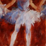 Daily Painting Donna Macdonald Ballerina Paintings