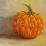 Daily Painting Projects Pumpkin Gourd Oil Still Life Art