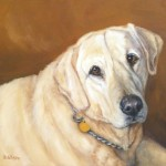 Daily Painting Projects Sage Oil Dog Pet Art Portraits Yellow