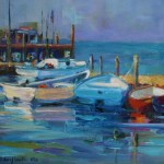 Daily Paintings Elizabeth Blaylock American Impressionist Boats