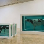 Damien Hirst Mother And Divided Exhibition Copy Original