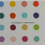 Damien Hirst The Complete Spot Paintings Display Gagosian