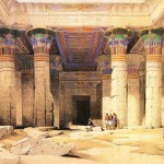 David Roberts Ancient Egyptian Oil Painting Art Paintings