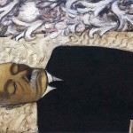 Dead Father Expressionist Alice Neel Art Picture
