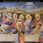 Death The Virgin Giotto Bondone Wikigallery Largest
