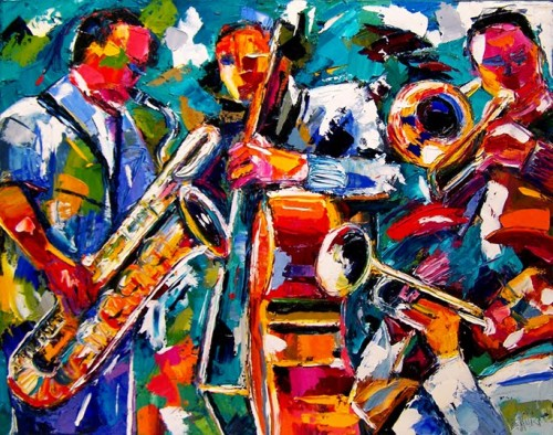 Debra Hurd Original Paintings And Jazz Art October