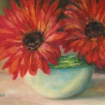 Debra Sisson Oil Painting Flowers Still Life Art Botanical Garden