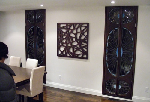 Decorative Mirror Wood Interior Design Decor Artsigns Interiors