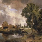 Dedham Mill John Constable Malmo Sweden Oil Painting Reproductions