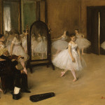 Degas Ballet Paintings The Dancing Class